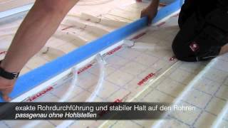 Hervorragend TF80 Dehnfugenprofil für Heizestrich Montageanleitung - YouTube GJ82