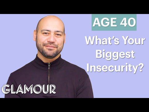 Men Ages 5-75: What's Your Biggest Insecurity? | Glamour