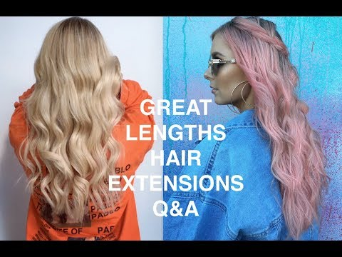 GREAT LENGTHS HAIR EXTENSIONS FULL REVIEW | RACHAEL BROOK