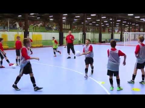 NSCAA/Kwik Goal Training Activity: Overlapping Passing Figure of 8
