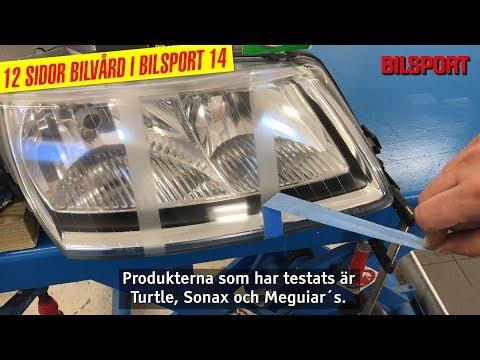 Test av strålkastarpolering i Bilsport 14/2018!