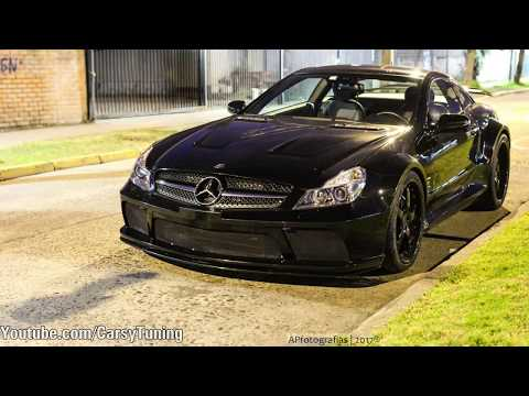 Mercedes SL65 AMG Black Series Renntech - Start Up, Acceleration and Revs