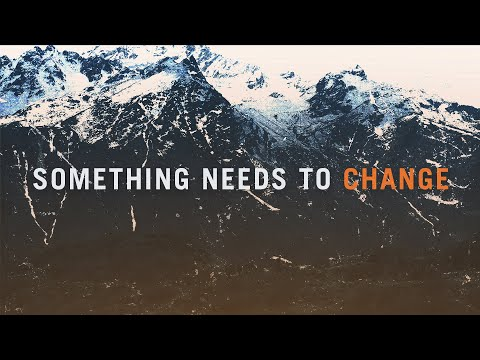 Something Needs to Change // Book Trailer