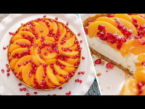 ДЕСЕРТ БЕЗ ДУХОВКИ | тарт с фруктами и сливочным крем-чизом | очень простой и вкусный
