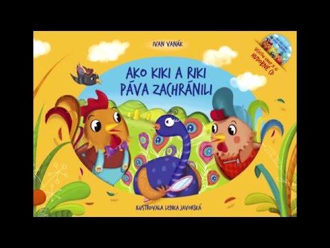 Videomix ku knihe Ako Kiki a Riki páva zachránili s CD (Ivan Vanák)