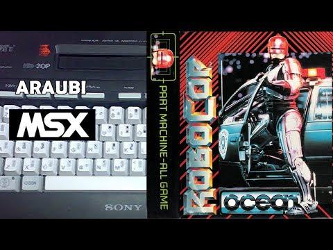 Robocop (Ocean, 1988) MSX [003] El Kiosko