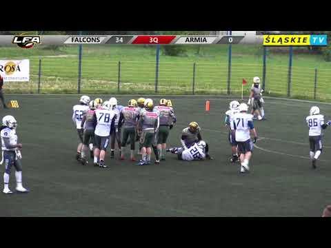 LFA1 2019: Tychy Falcons vs Armia Poznań 40:13