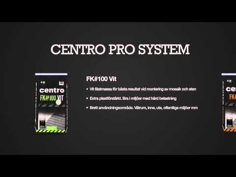 Centro Pro System - Vårt eget proffsmärke