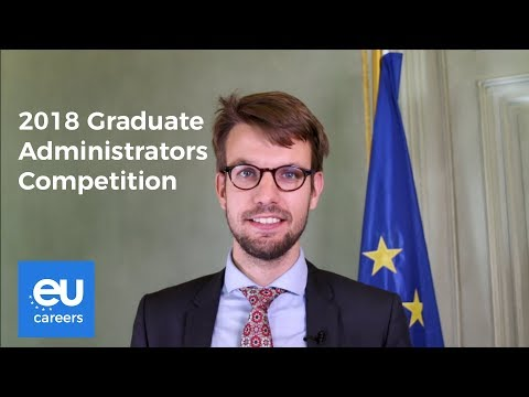2018 Graduate Administrators Competition | EU Careers photo