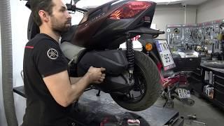 Cambio olio motore XMax 300 Yamaha da 2017