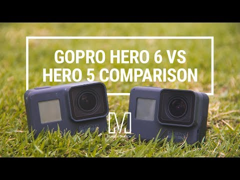 GoPro HERO 6 Black Vs 5 Comparison