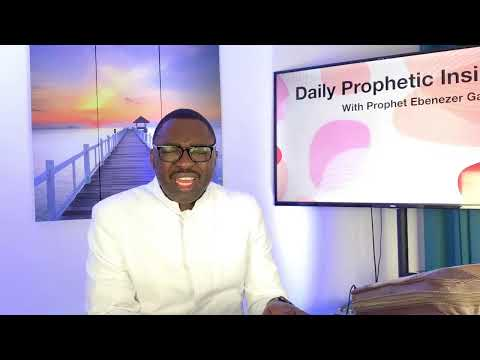 Prophetic Insight October 5 2021