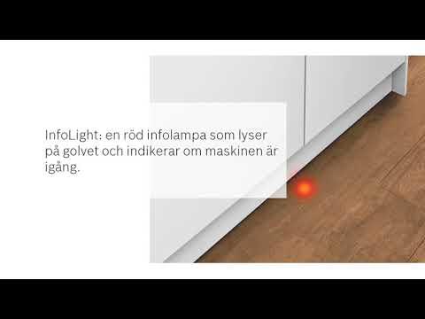 Bosch, DISKMASKINER, Serie 4, SMP46MW03S