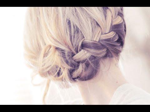 Pretty Side French Braid Updo - UCnAqn8QWPPYy4ohgk7WT6mw