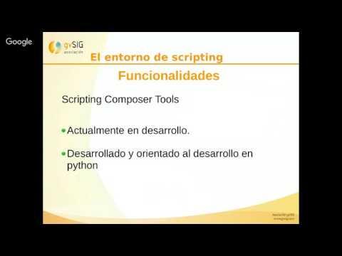 5as Jornadas Brasileiras gvSIG: Introducción a Scripting en gvSIG