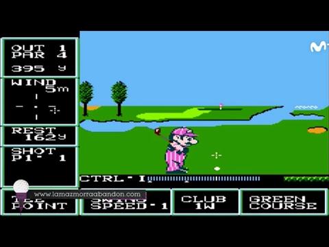 La Mazmorra Abandon y Movistar Golf presentan: Historia de los Videojuegos de Golf [Capítulo 3]