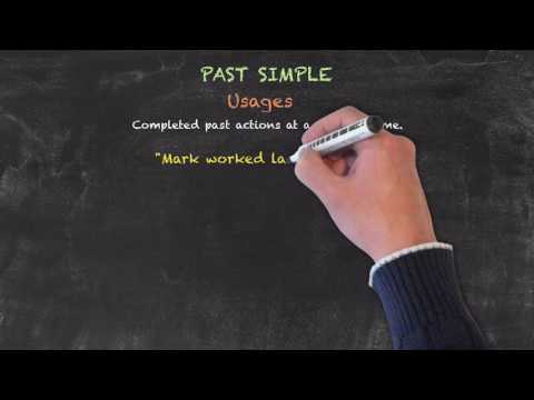 The Past Tenses - Past Simple - Usages