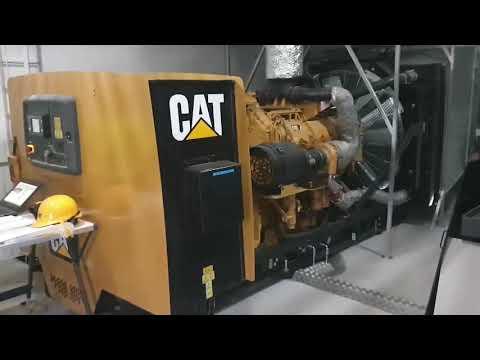 Cat reservkraft - Ängelholms reningsverk