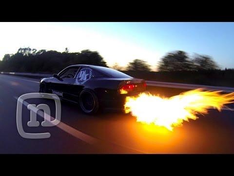 Ryan Tuerck Flamethrower GoPro Burnout Response: #NoPants - UCsert8exifX1uUnqaoY3dqA