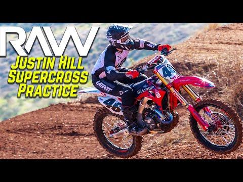 Justin Hill 2020 Supercross Practice RAW - Motocross Action Magazine