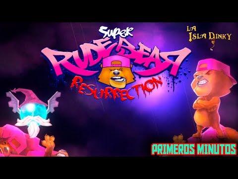Super Rude Bear Resurrection - Primeros Minutos - Alex Rose Games - 2017 - PC - Gameplay