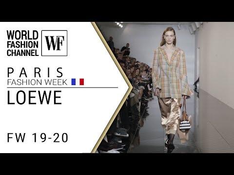 Loewe Fall-winter 19-20 Paris fashion week