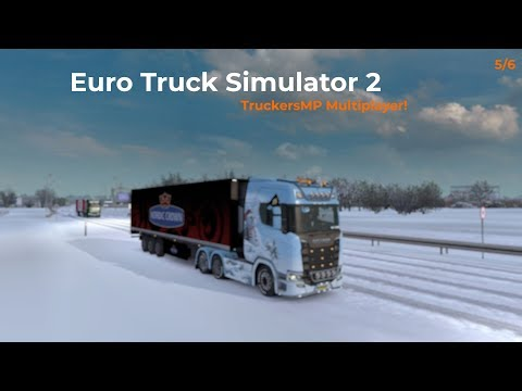 Euro Truck Simulator 2  TruckersMP  Part 56 Livestream 06012018