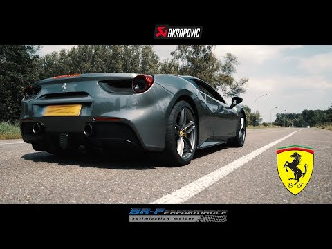 Ferrari 488 GTB AKRAPOVIC sounds. More coming soon!