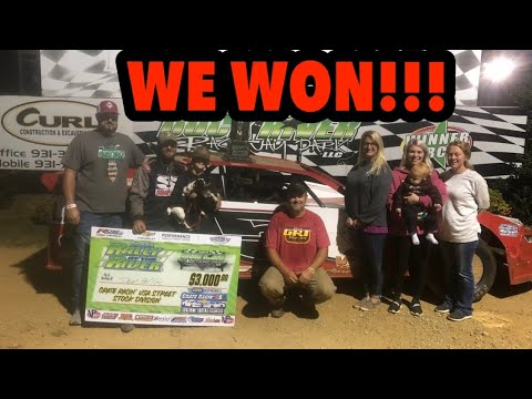 WE WON THE $3000 TO WIN RACE  - dirt track racing video image