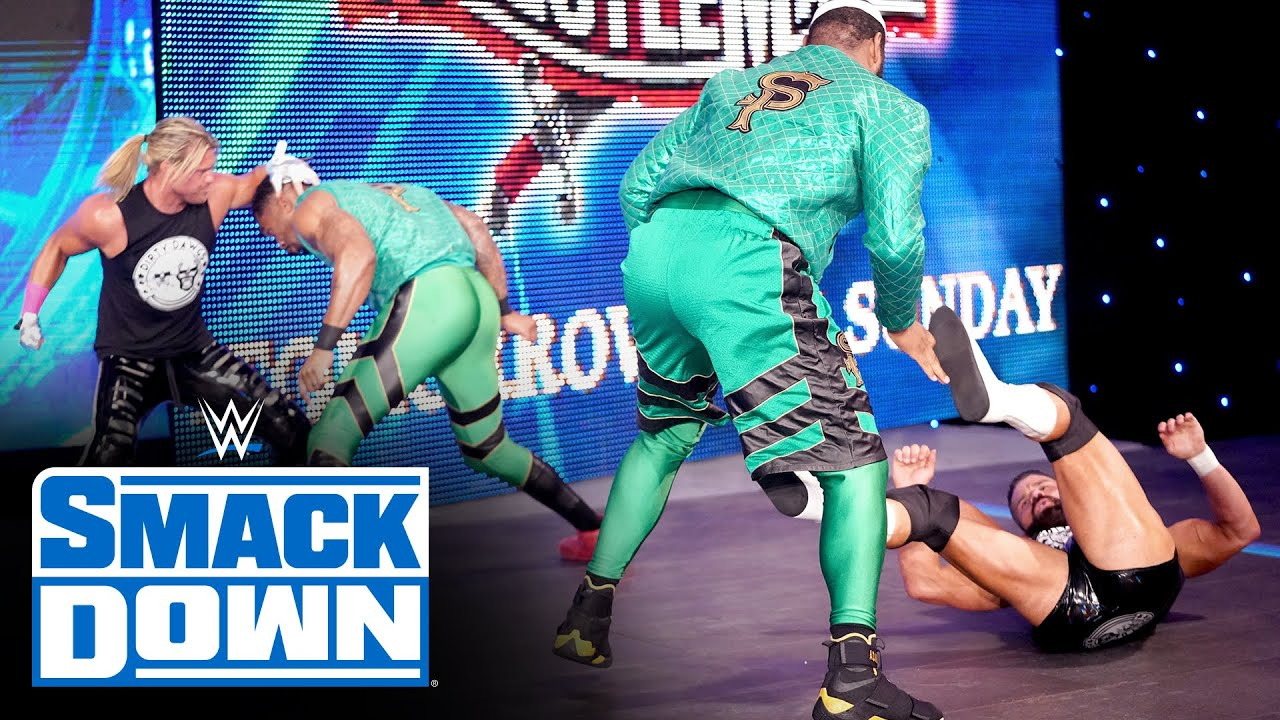 Dolph Ziggler & Robert Roode ignite a brawl with their Fatal 4-Way foes: SmackDown, April 9, 2021