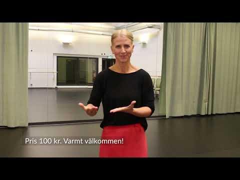 Dansworkshop och teckenspråkstolkad introduktion inför Transit