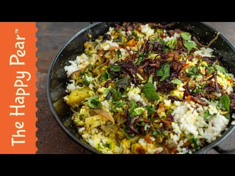 VEGAN INDIAN BIRYANI | THE HAPPY PEAR