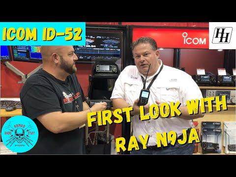 Icom ID-52 | First Look With Ray N9JA @ Huntsville Ham Fest 2021