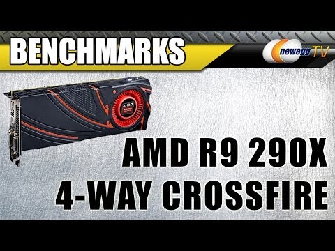 AMD R9 290X 4-Way Crossfire Benchmarks - Because You Asked For It - UCJ1rSlahM7TYWGxEscL0g7Q
