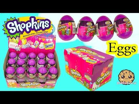 Surprise Purple Easter Eggs Blind Bag Shopkins Season 2 Full Box  - Cookieswirlc Video - UCelMeixAOTs2OQAAi9wU8-g