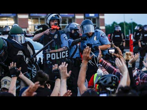 """No justice, no peace"": Protesters defy curfews as riots continue across U.S. for sixth night"