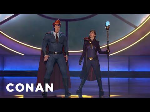 Conan's Nemesis Kristen Schaal Invades #ConanCon - CONAN on TBS - UCi7GJNg51C3jgmYTUwqoUXA