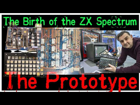The Birth of the ZX Spectrum - The Prototype of Sinclair ZX Spectrum (In English)