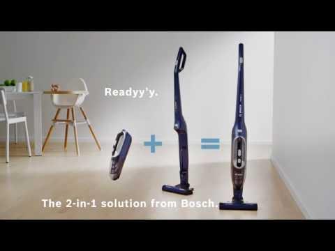 Ingen sladd. Inga kompromisser på flexibilitet - Bosch Readyy'y 2in1
