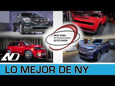 Dodge Demon, Navigator 2018, Cherokee Trackhawk, Enclave 2018 - Lo mejor de Nueva York