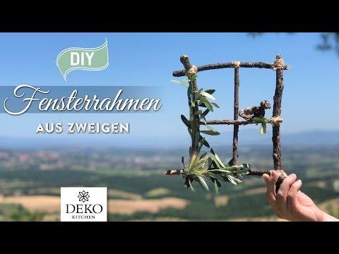 DIY: Fensterrahmen aus Zweigen - Urlaubs-Special [How to] Deko Kitchen