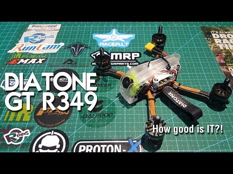 "Diatone r349 3"" race quad suppa fly'er at minus 6° - UCv2D074JIyQEXdjK17SmREQ"