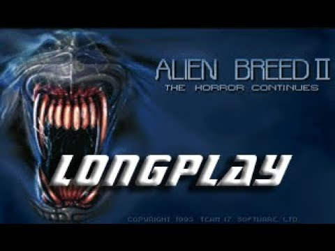 Alien Breed II The Horror Continues AGA (Commodore Amiga) Longplay