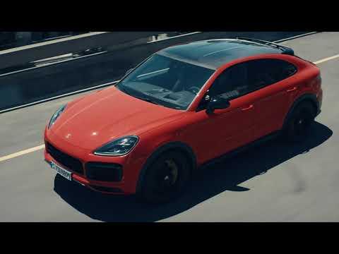 The new Porsche Cayenne Coupé - First Driving Footage