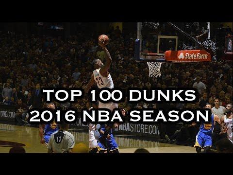 Top 100 Dunks: 2016 NBA Season