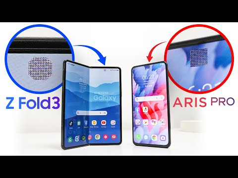 So sánh camera ẩn Galaxy Z Fold 3 và Vsmart Aris Pro: lộ rất rõ!