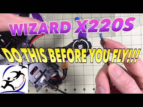 Don't Fly your Wizard X220S Until You Do This!!!  You MUST Loctite your motor screws! - UCzuKp01-3GrlkohHo664aoA