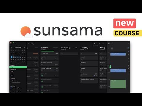 Sunsama Made Simple - Free Course