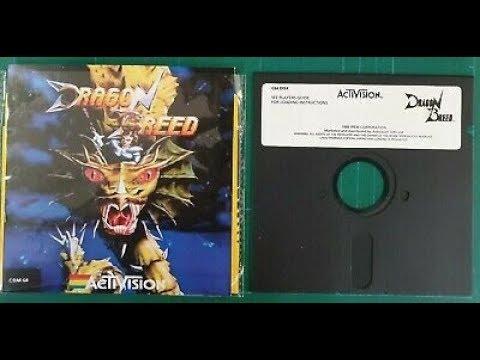 C64 REAL 50Hz: Colores Especiales y Gráficos Gigantes - Jugando un par de Horas al Dragon Breed