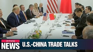 U.S., China to relaunch trade talks; U.S. exempts medical, electronics from tariffs